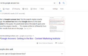 google answers for google answer box
